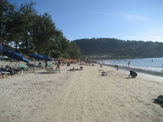 Фото с пляжа Патонг на Пхукете номер 8