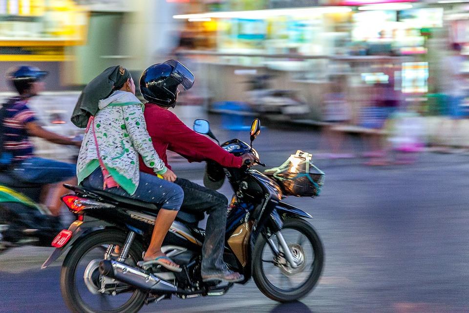 Таиланд. Мотоциклы.