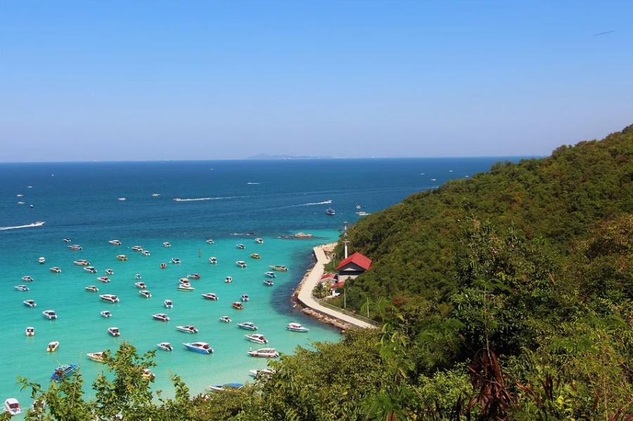 Море Таиланда