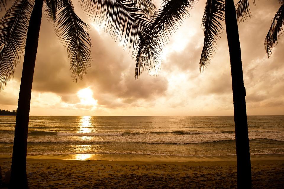 пляж Андаманского моря на Пхукете