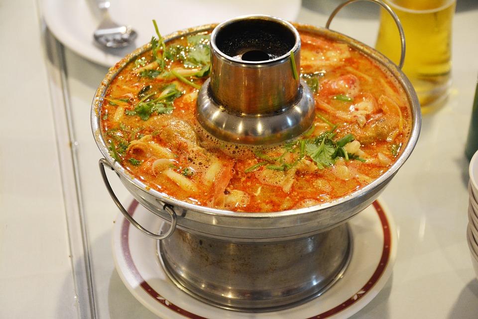 Пряный суп Том Ям