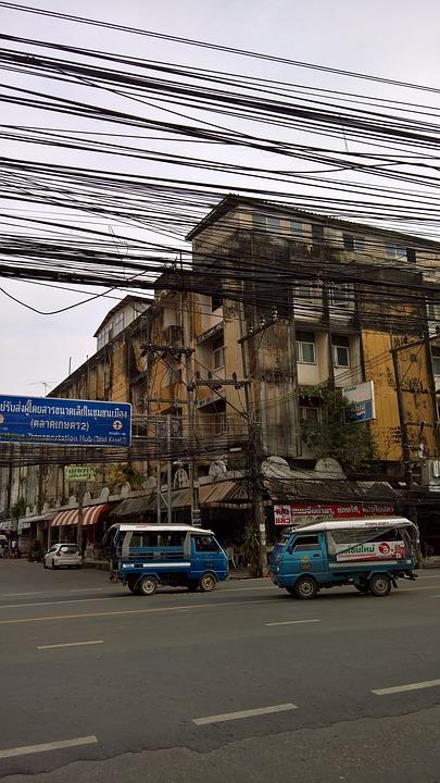 Связь кабелей в Таиланде