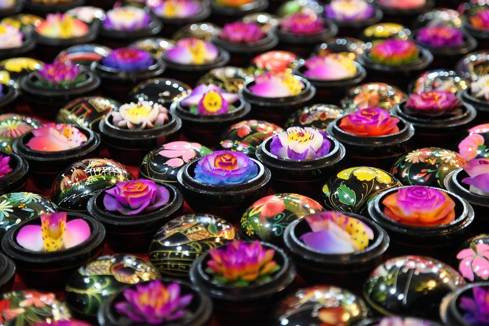 Тайское мыло-цветок
