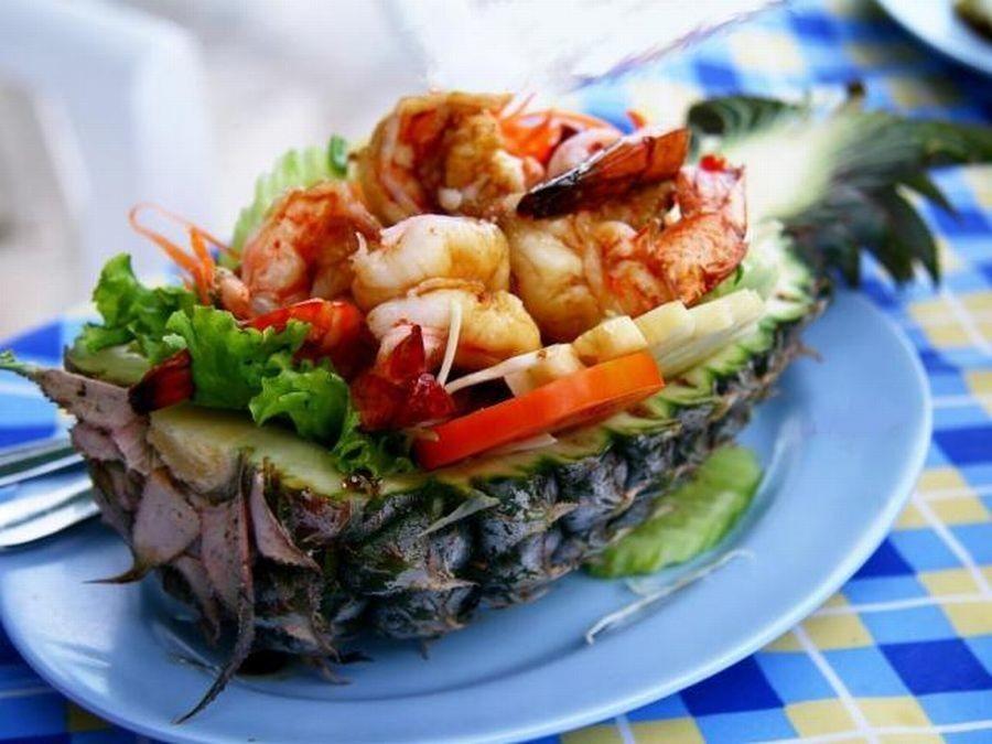 Жареный рис Кхао Пад Саппарод