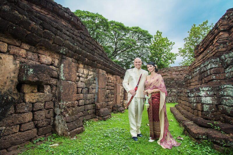 Стилизованная свадьба в Таиланде